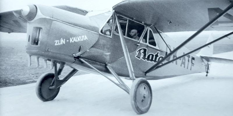 Bata airfleet plane 6 - Zlin-Calcutta_19