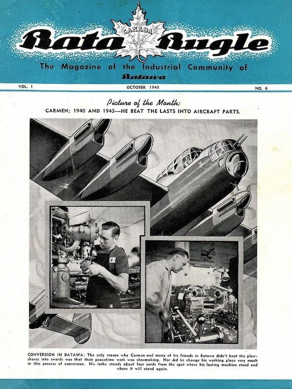Bata company magazine in Canada (kopie).