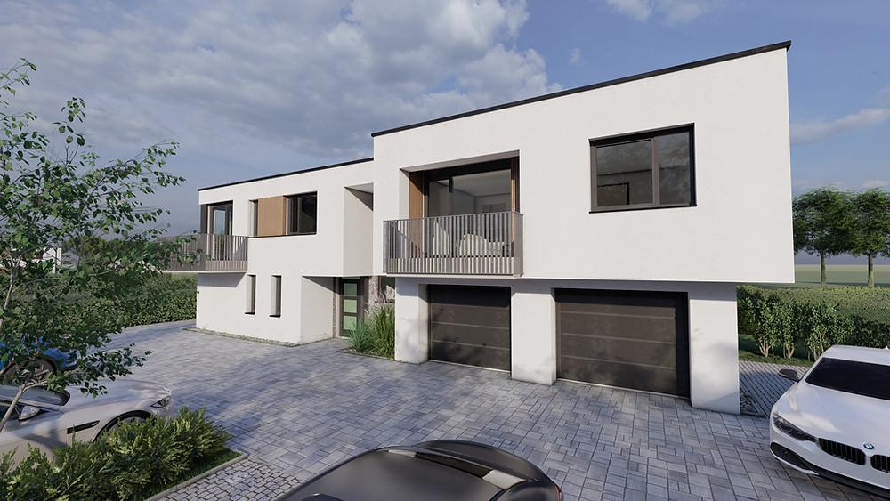 Több mint 100 milliárd forint értékben kötöttek lakáshitel-szerződéseket a magyar háztartások márciusban - Kép: Global Cégcsoport