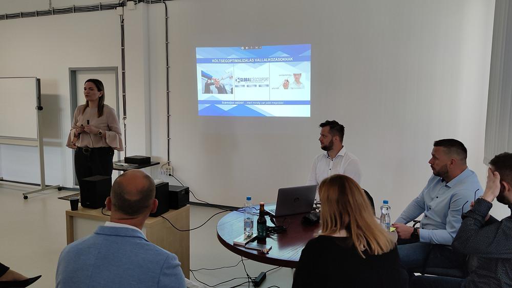 Szabó-Cseszneki Nikolett a vállalati költséghatékonyság javításának lehetőségeiről beszélt