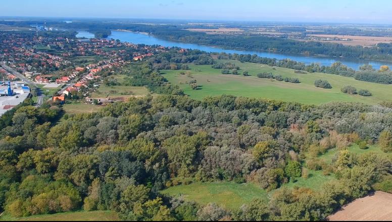 Részlet a Nagyszentjánoson forgatott RTL Most riportból, ami a természetközeli lakóparkok előnyeit foglalta össze