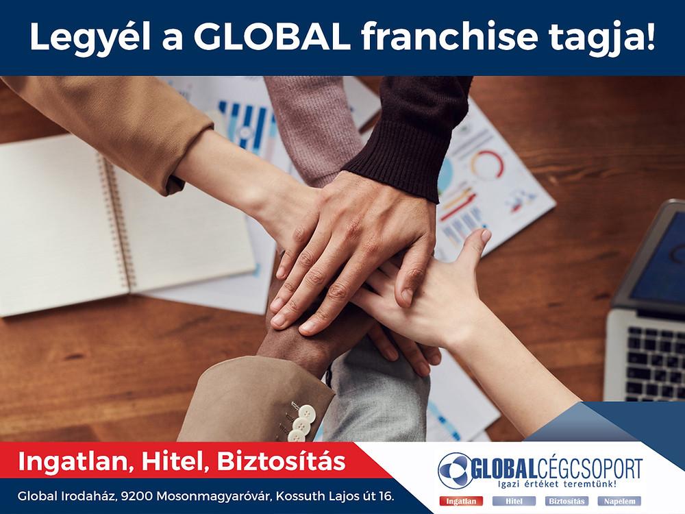 Bővítjük a Global franchise hálózatát, keressük az új partnereket