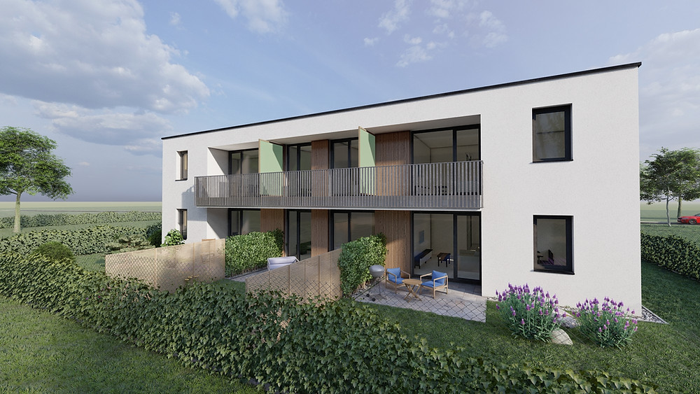 Mosonmagyaróvár központjához közeli, 8 lakásos társasház lakásaihoz keresünk új tulajdonosokat
