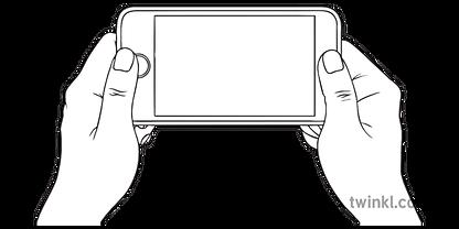 Hand-Holding-Mobile-Phone-Landscape---Ge
