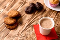 caffe e biscotti