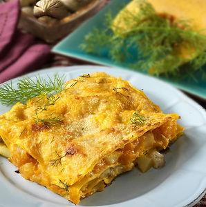 Lasagne zucca e rosmarino