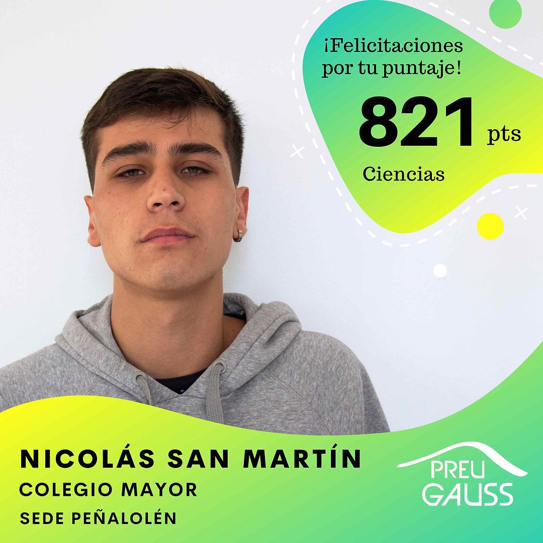 [P19-003] Nicolas San Martin - Ciencias.