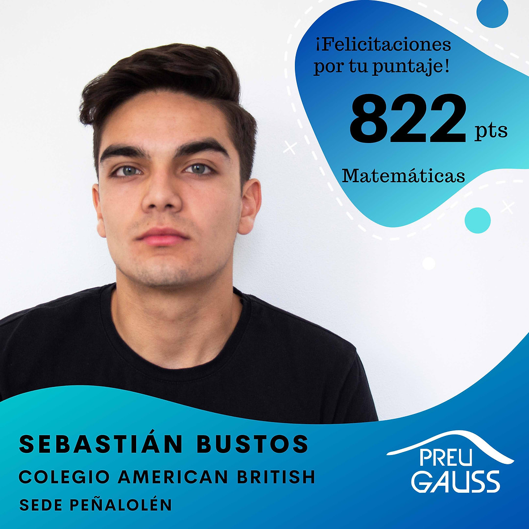 [P19-068] Sebastian Bustos - Matematicas