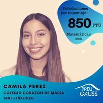 [P20-063] Camila Perez - Matematicas - P
