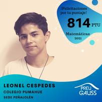 [P20-028] Leonel Cespedes - Matemáticas