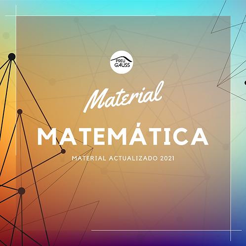 Material Matemáticas 2021