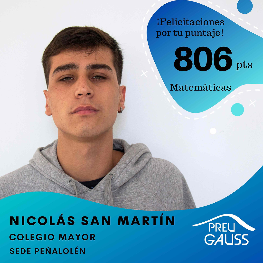 [P19-003] Nicolas San Martin - Matematic