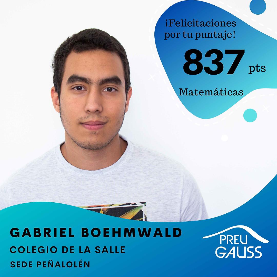 [P19-019] Gabriel Boehmwald - Matematica