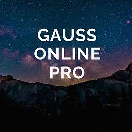 Gauss Online Pro