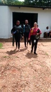 Curso de mergulho básico.