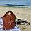 Thumbnail: Hand to shoulder Mayan flower handbag