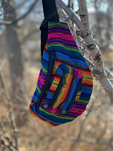 Rainbow belt bag