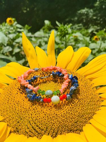 Beach Jade bracelet