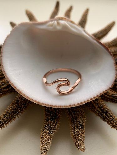 Rose Wave ring