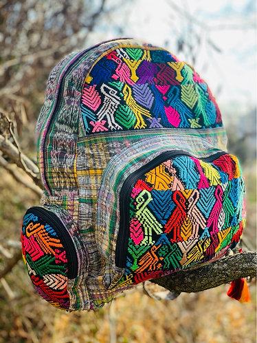 Mayan backpack