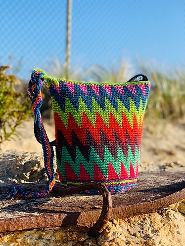 Wave cotton bag
