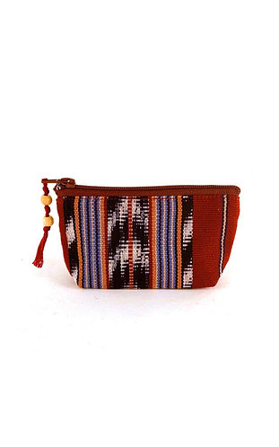 Mayan coin purse (Red/Blue)