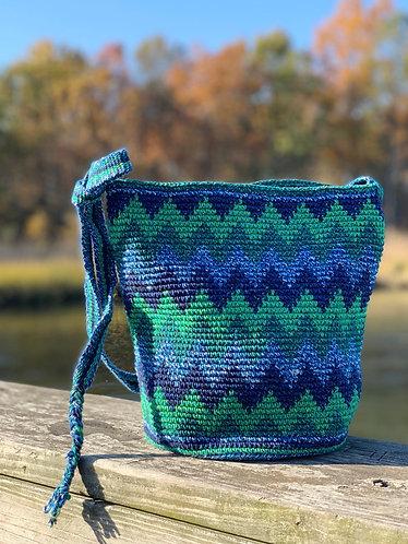 Wave cotton bag