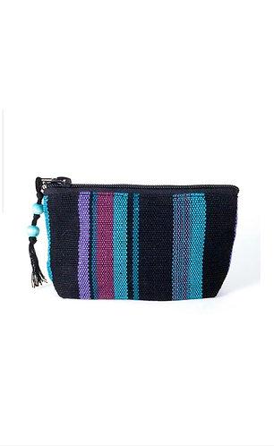 Mayan coin purse (Black/Purple)