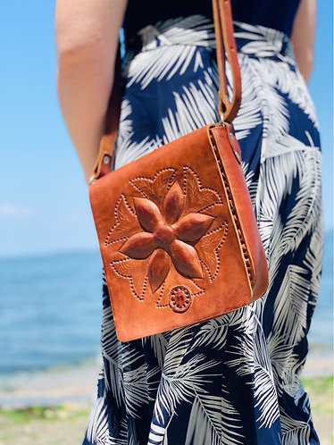 Mayan Flower handbag
