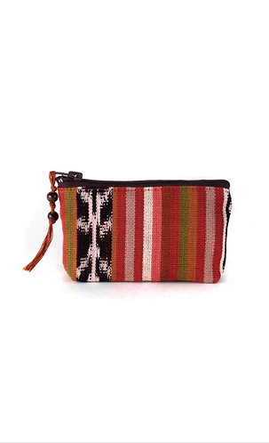 Mayan coin purse (Brown/Red)