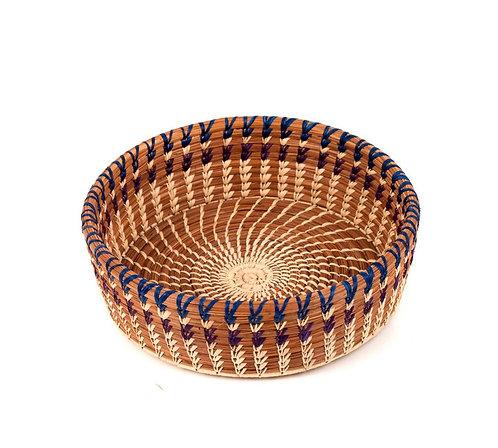 Large pine needle basket