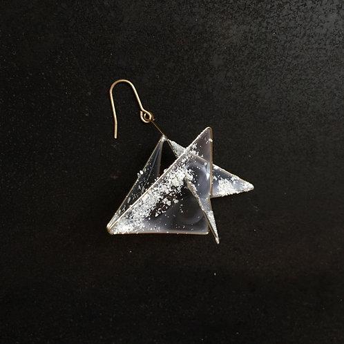 結晶-きらら ピアス 片耳