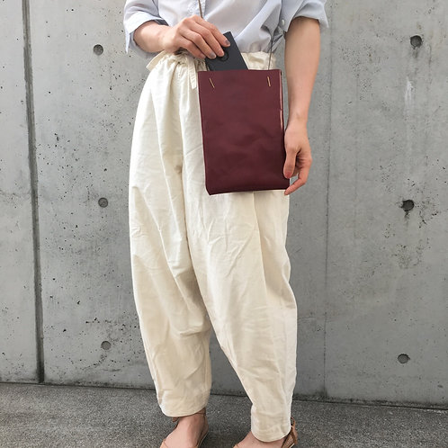 Flat ポシェット RED|M