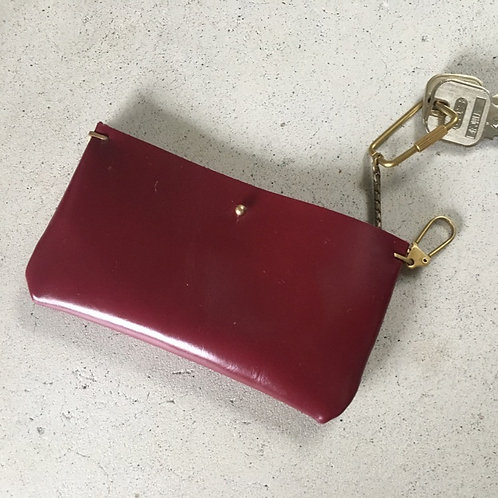 Flat key case RED