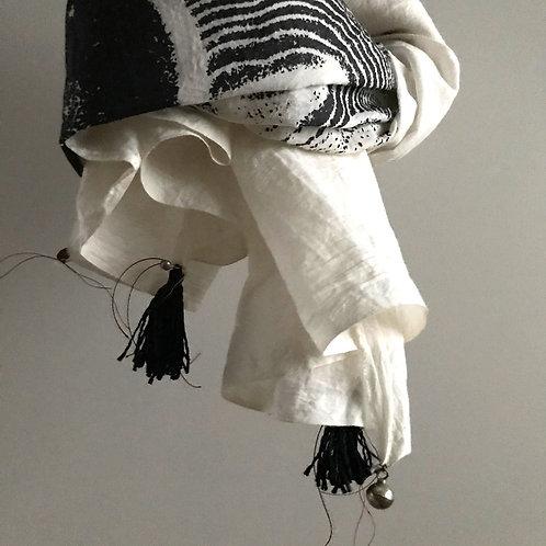 kiwawa| Cloth 白×黒・ハーフ
