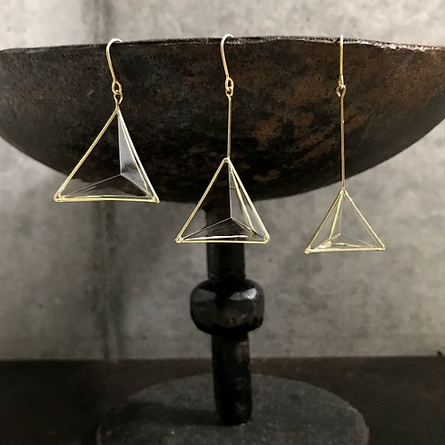 pyramid 片耳 ピアス