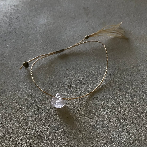 bless Abaca bracelet-kunzite