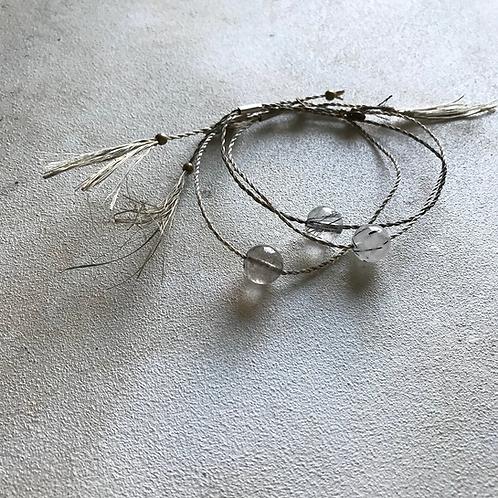 bless Abaca bracelet-tourmaline