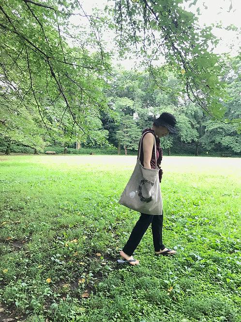 kiwawa|シルクスクリーンbag-L-02