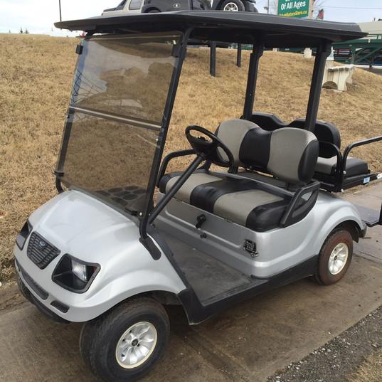 golf cart gas - 2009 yamaha g29 body kit