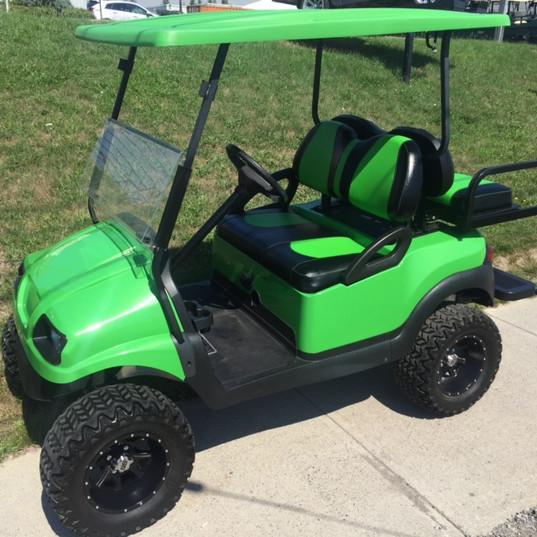 golf cart - lime green phantom.JPG