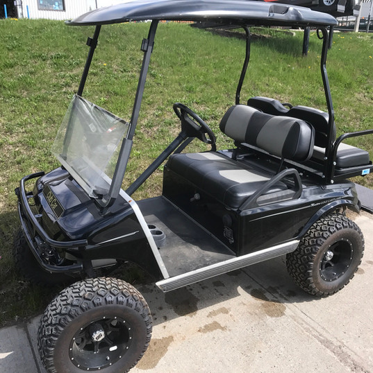 Golf Cart - 2004 Club Car DS Gas lift ki