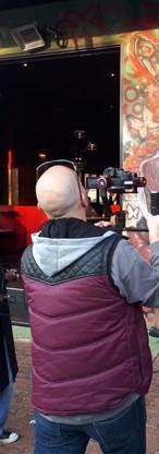 Filming Melville, Johannesburg