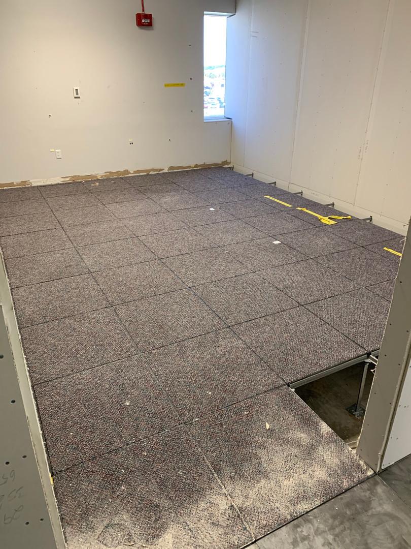 1980's Factory Applied Carpet