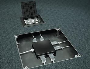 Underfloor Modular Power System