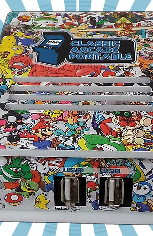 Consola Classic Arcade Portable - 2 Controles SNES