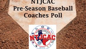 Lions picked 4th in NTJCAC Pre-Season Baseball Poll