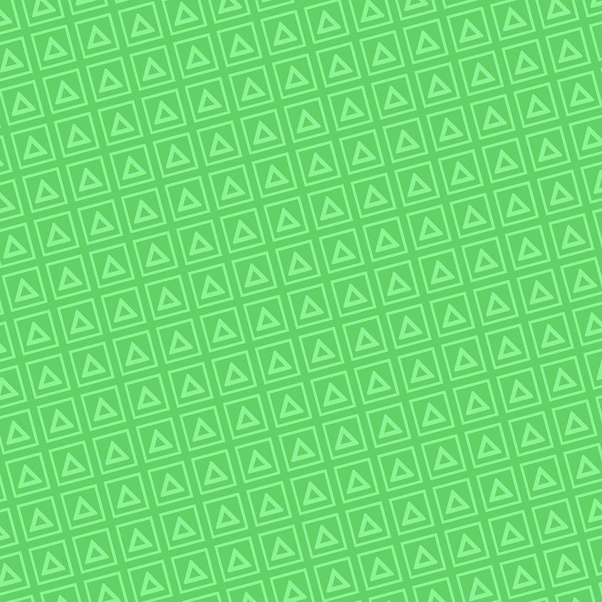 Green Collapsus Blocks tile