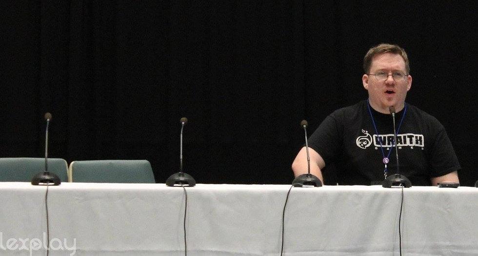 Jay Kidd speaking at LexPlay