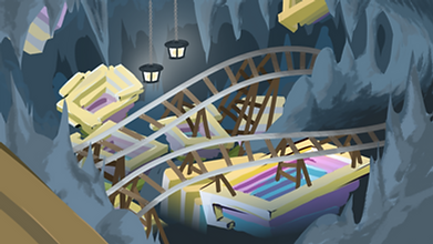 Cave Worm Bismuth Cave concept art